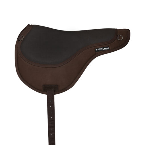 Thinline Comfort Bareback Pad Brown