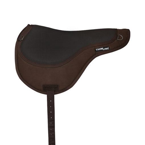Thinline Comfort Bareback Pad Brown